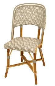 Woven Bistro Chairs Chair And Table Design French Rattan Bistro Chairs The Classy