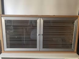 effektiv ikea ikea effektiv wall bookcase in birch color with glads doors general