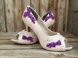 wedding shoes purple la boutique