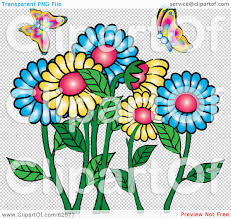 royalty free rf clipart illustration of colorful spring