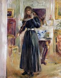 Best Images About Berthe Morisot On Pinterest French Sisters - Berthe morisot in the dining room