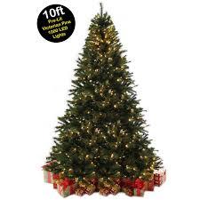 10ft christmas tree 10ft 3m pine pre lit christmas tree with 1000 warm