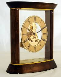 Schreibtisch Holz G Stig Tischuhr Kaminuhr Atmos Goldbraun Standuhr Uhr Schreibtisch