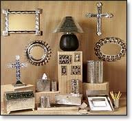 Metal Home Decorating Accents Natural Tin Home Accessories