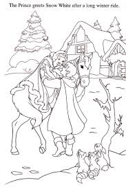 24 malebog snehvide images coloring sheets