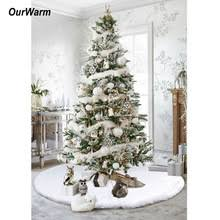 faux fur tree skirt popular christmas tree skirts buy cheap christmas tree skirts lots