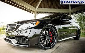 mercedes matte black rohana rf1 matte black rotary forged on mercedes wheels