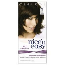 best hair dye without ammonia morrisons nice n easy non permanent colour dark brown 79 hair dye