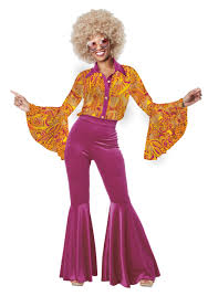 Halloween Costumes 70s Women U0027s Funky Disco Diva Costume