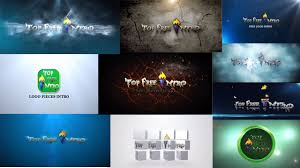 top 10 logo animation after effects intro templates free no