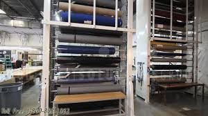 Upholstery Warehouse Storing Large Fabric Rolls Textile U0026 Upholstery Automated Vertical
