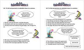 complex sentences student assessment