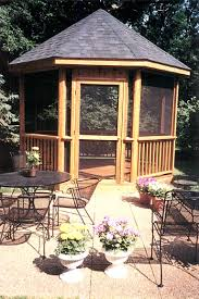deck gazebo porch and patio builders illinois outback builders