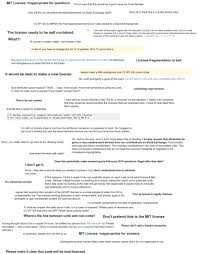 mit cover letter a new code license the mit this time with attribution required