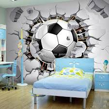 football bedroom decor football photo wallpaper soccer wall mural 3d wallpaper passion