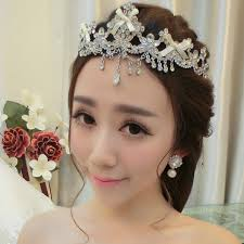 amanti crown forehead decoration new korean fringed flowers