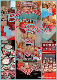 Red Baby Shower Themes For Boys - 9 best bun in the oven baby shower images on pinterest cinnamon