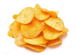 ripple chips potato ripple chips stock photo jimbo3904 120545512