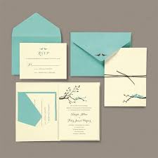 brides wedding invitation kits brides birds pocket wedding invitation kit walmart