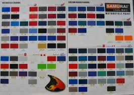 100 motorcycle paint colors chart motorcycle painting