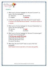 comprehensions for grade 3 ages 7 9 worksheets passage 33