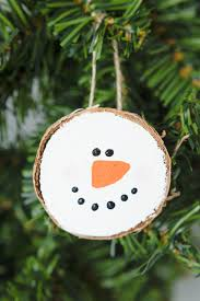 Wooden Christmas Ornaments To Make Wood Slice Ornaments Made To Be A Momma