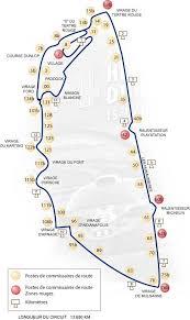map of le mans le mans circuit de 24 heures track map 2002