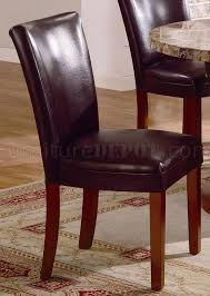 Genuine Leather Dining Room Chairs by Genuine Marble Dining Room Furniture W Leather Seats