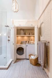 bathroom with laundry room ideas bathroom laundry room ideas square mirror with brown frame