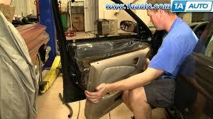 1998 Toyota Corolla Interior Door Handle How To Install Replace A Door Panel Toyota Corolla 98 02 1aauto