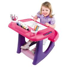 sit u0027n u0027 draw creativity desk pink and purple toys r us