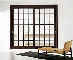 Doors Fine Sliding Glass Door With Wooden Frame For Private