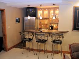 basement finish entertain peninsula bar basement remodel