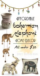 137 best wild animal decor ideas show your untamed side images affordable bohemian elephant home decor boho bohemian hippie home decor under 20