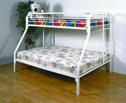 White Bunk Bed Frame Bunk Beds Furniture Max