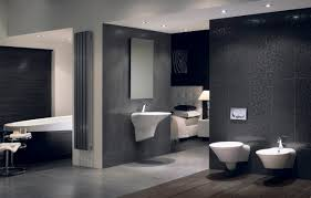 modern home interior bathroom design ideas with elegant shiny
