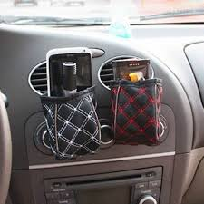 Vehicle Leather Upholstery Car Leather Upholstery Car Outlet Sundries Bag Cell Phone Pocket