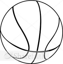 basketball clipart images free basketball outline free clip free clip on