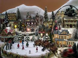 Images Of Christmas Decorated Houses 494 Best Snow Village Wishes Images On Pinterest Christmas