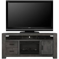 Tv Stand With Fireplace City Furniture Empire Gray 72