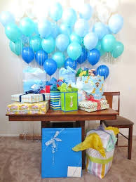 blue baby shower baby shower balloons decorations fin soundlab club