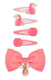 primark hair accessories primark coral bow clip set kids hair accessories
