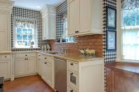 Kitchen Backsplash Brick Kitchen Kitchen Backsplash Gray Washed Brick Grey Kitchen With