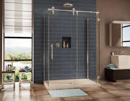 Installing Frameless Shower Doors Sliding Glass Shower Door Installation Repair In How To Install