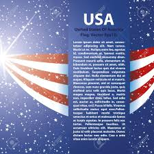 United Staes Flag United States Of America Flag Background Usa Royalty Free Cliparts