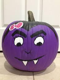 cute vampire painted pumpkin craft ideas pinterest