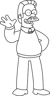 free coloring pages kids simpsons coloring pages