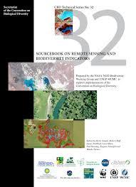 sourcebook on remote sensing and biodiversity indicators pdf