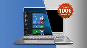 reprise ordinateur de bureau 100 de reprise sur votre ordinateur pour l achat d un pc windows 10