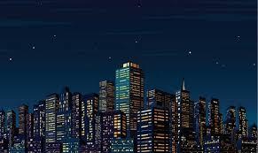 cityscape backdrop 7x5ft time starry sky city skyline cityscape buildings